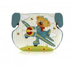 Bertoni Teddy aquamarine pilot bear