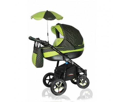 Verdi Pepe Eco 3/1 01 green dots графит/салатовый горох