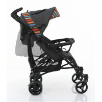 ABC Design Amigo multicolor цвет серый в цветную полоску